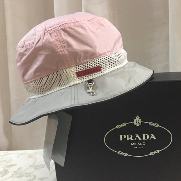 95491912ce5 Prada Logo Bucket Hat